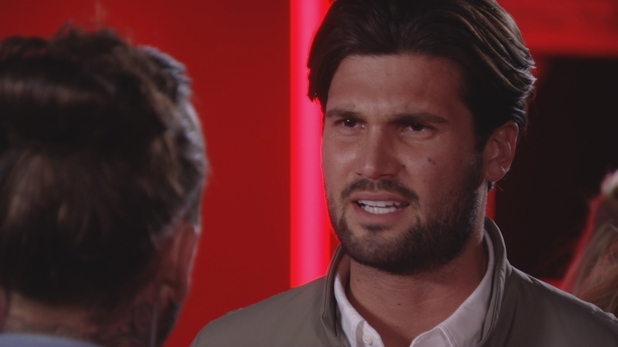 TOWIE - Dan has it out with Pete. 23 March 2016.