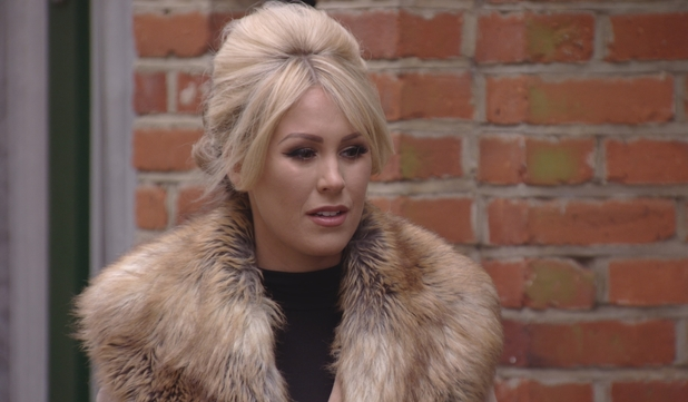 TOWIE - Kate comes face to face with Megan. 23 March 2016.