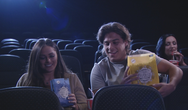 TOWIE Series 17, Episode 9 Courtney and Chris on a cinema date