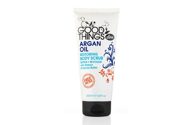 Good Things Spa Argan Oil Body Scrub £2.99, 21st March 2016