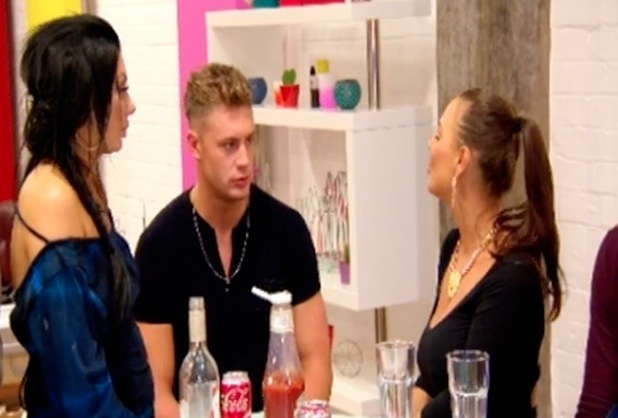 Chloe Ferry, Chantelle Connelly, Scotty T, Geordie Shore Series 12, Episode 2 22 March