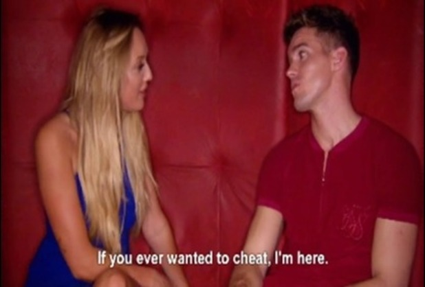 Gary Beadle and Charlotte Crosby, Geordie Shore Series 12, Episode 2 22 March