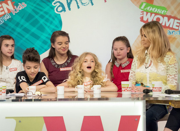 'Loose Women and Kids' TV show, London, Britain - 25 Mar 2016
