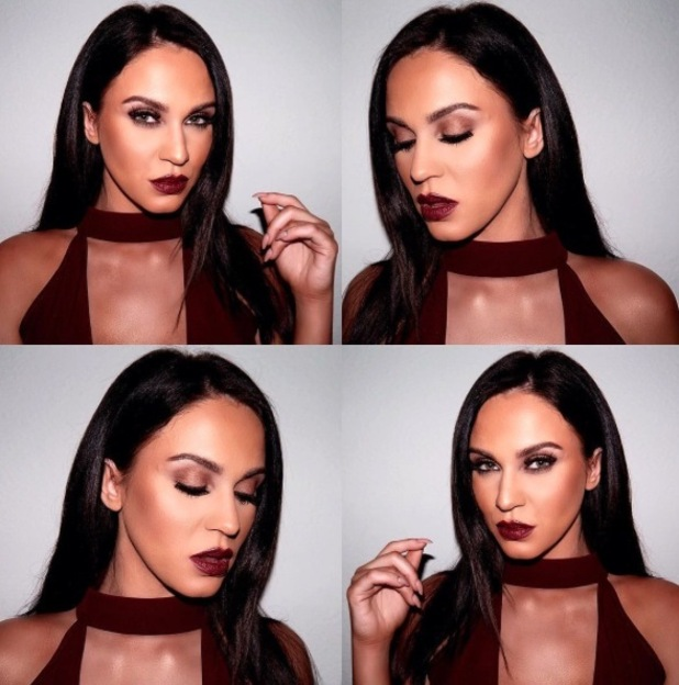 Geordie Shore's Vicky Pattison and make-up artist Lo Dias take to Instagram to let us in on Celebrity Juice make-up secrets, 22nd March 2016