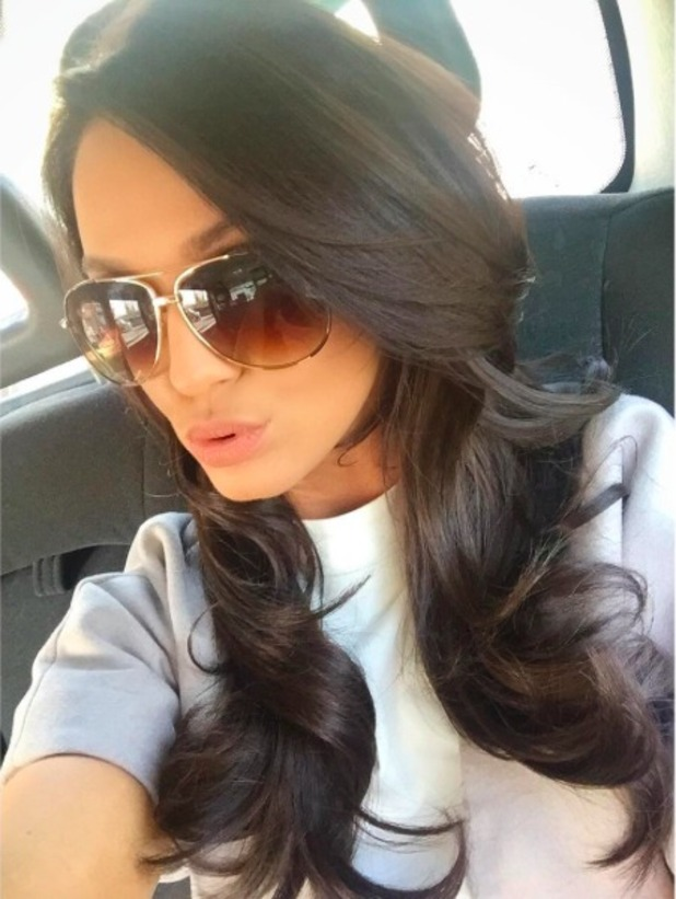 Vicky Pattison flaunts new hair, 25 March 2016.