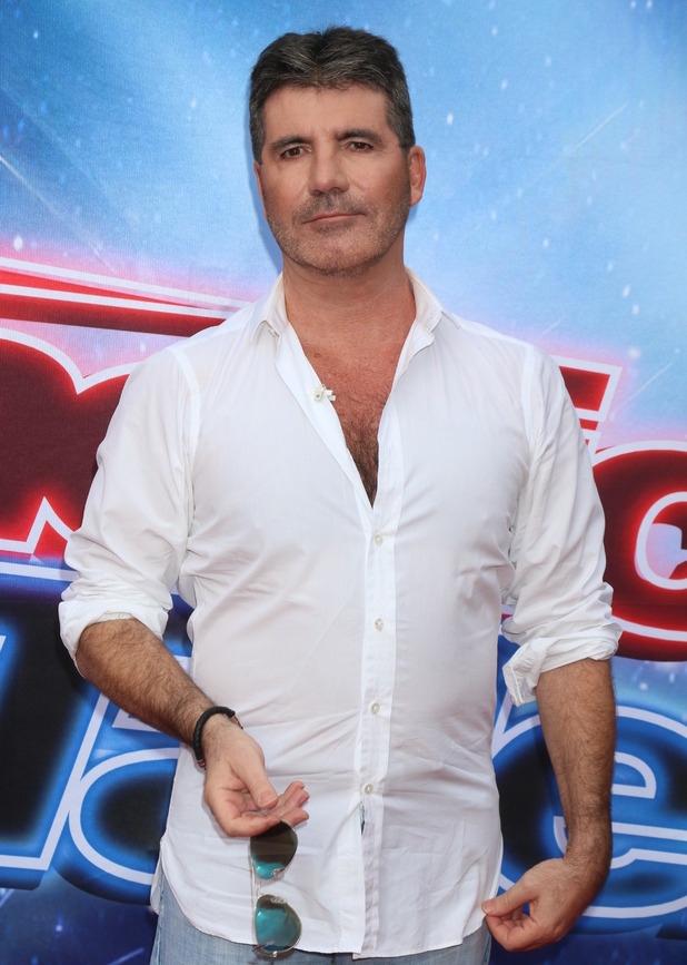 Simon Cowell - America's Got Talent photocall at the Pasadena Civic Auditorium - 3 March 2016.