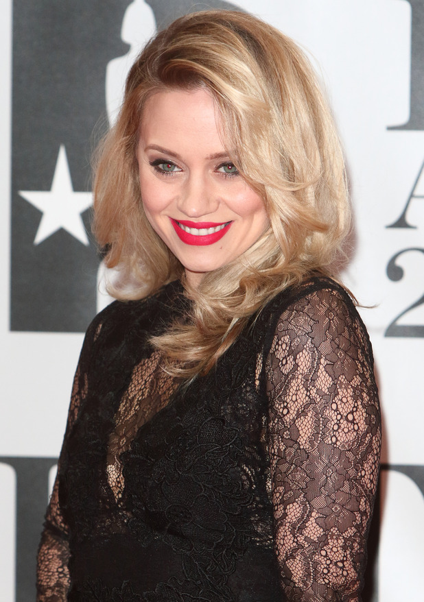 Kimberly Wyatt - Brit Awards Red Carpet 2016 at the O2 Arena, London. 24 February 2016.
