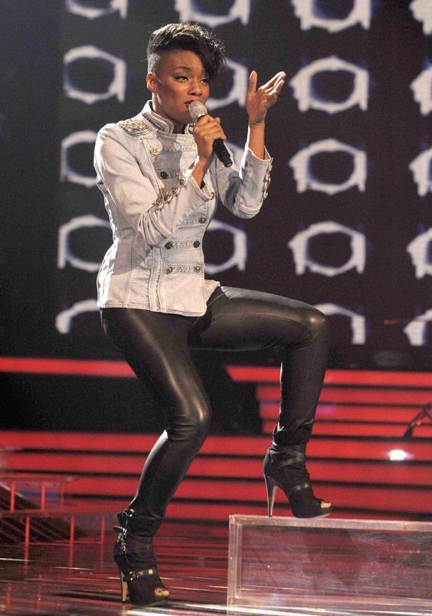 Rachel Adedeji - The X Factor TV Programme, London, Britain - 17 Oct 2009
