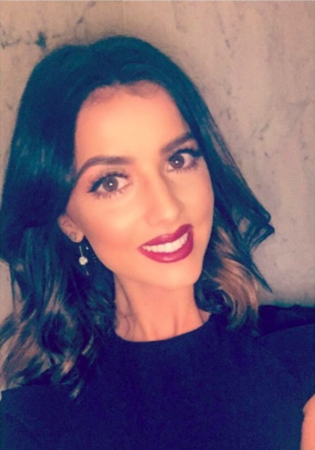 Lucy Mecklenburgh posts stunning selfie, 25 March 2016.