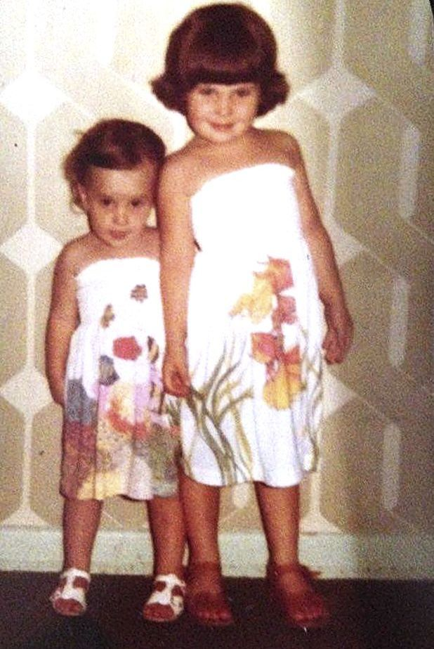 Georgina Condon and her sister