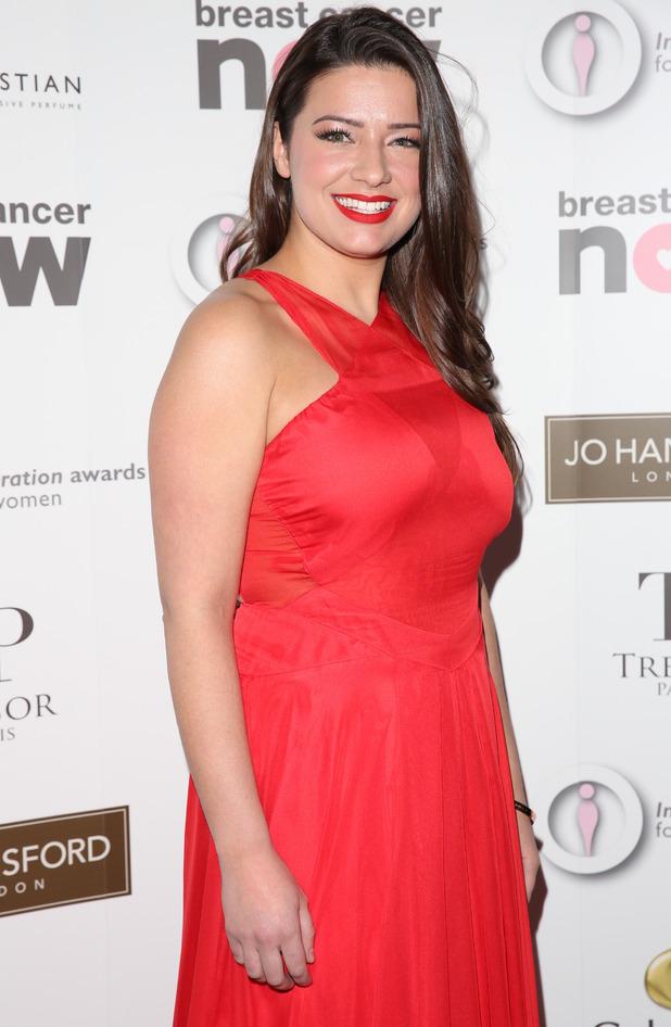 Sophie Austin at The Inspiration Awards for Women 2015 held at the Landmark Hotel December 2015.