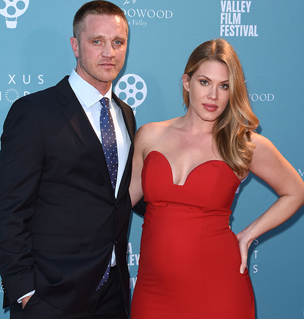 Devon Sawa and wife Dawni Sahanovitch arrive at the world premiere of the film 'Life on the Line' during the 2015 Napa Valley Film Festival at the Lincoln Theatre on November 14, 2015 in Yountville, California. (Photo by C Flanigan/FilmMagic)