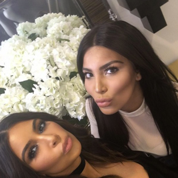 Kim Kardashian meets Kamilla Osman, her lookalike 21 March 2016