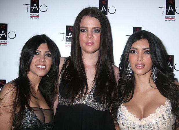 Kourtney Kardashian, Khloe Kardashian and Kim Kardashian Kim Kardashian hosts The First Princess Party at TAO inside the Venetian Hotel and Casino Las Vegas, Nevada - 06.04.07