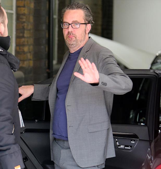 Matthew Perry outside ITV Studios 22 March 2016
