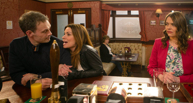 Corrie, Tracy jealous of Nick and Carla, Wed 30 Mar