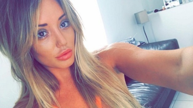 Charlotte Crosby selfie, Instagram 27 March