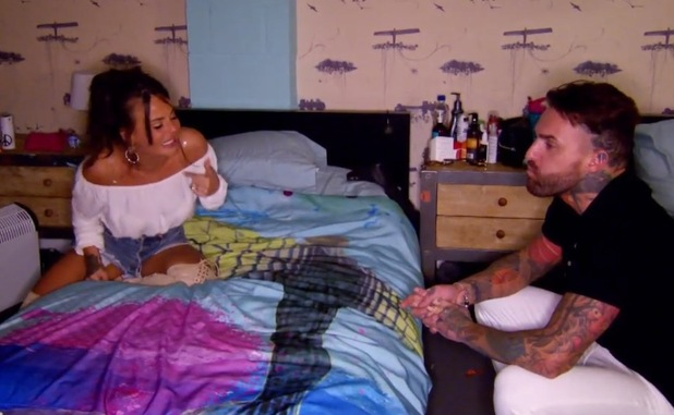 Chantelle Connelly and Aaron Chalmers fight, Geordie Shore Series 12, Episode 4 5 April