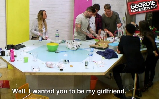 Scotty T tells Chantelle Connelly he wants her to be his girlfriend, Geordie Shore 29 March