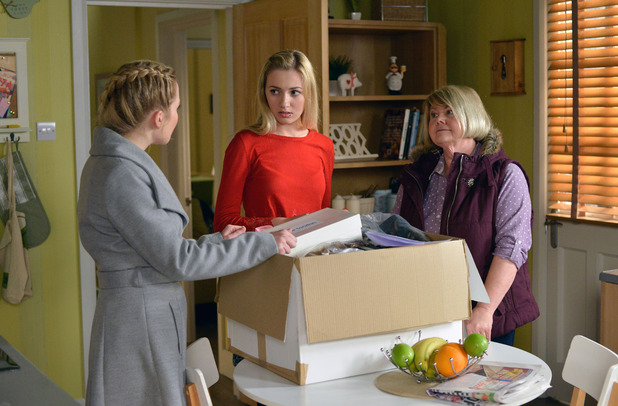 EastEnders, Abi confronts Louise, Tue 5 Apr