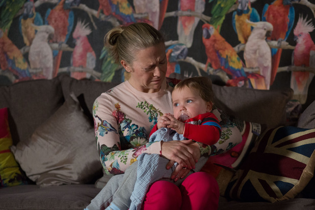 EastEnders, Linda worries about Ollie, Thu 31 Mar