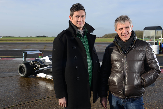 New ITV racing show, Drive. 29 March 2016.