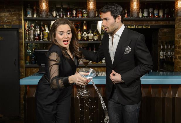 Mark-Francis Vandelli hosts a Martini Etiquette Masterclass at Dirty Martini Hanover Square. March 2016.