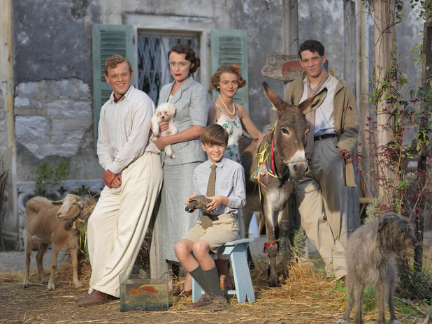 The Durrells, Keeley Hawes and cast, Sun 3 Apr