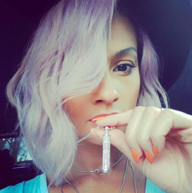 Gorgeous Alesha Dixon selfie, March 2016.