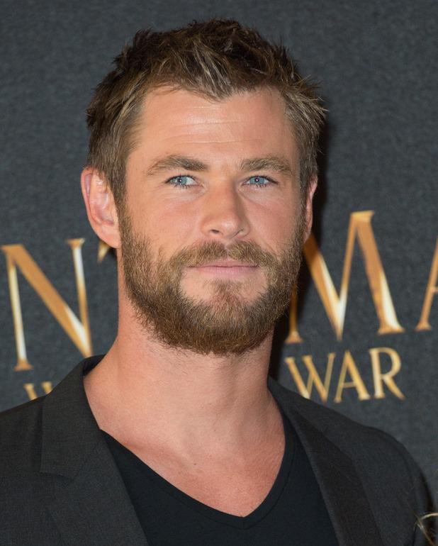 Chris Hemsworth at The Huntsman - Winter's War photocell at Claridges Hotel in London. 31 March 2016.