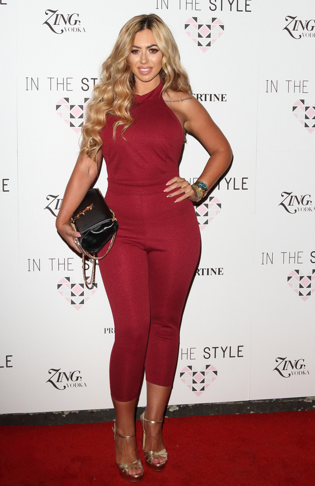 Geordie Shore's Holly Hagan attends the In The Style party at London nightclub Libertine, 31st March 2016