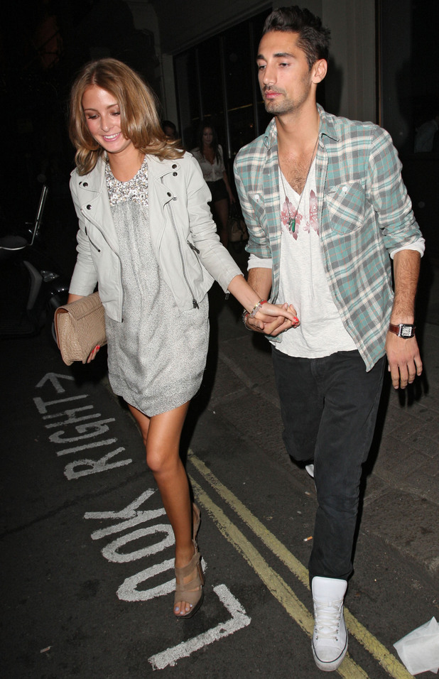 Millie Mackintosh and Hugo Taylor at The Mayfair Hotel, 7/1/11