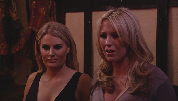 TOWIE Series 17, Episode 10 Kate and Danielle talk to Chloe and Courtney