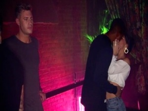 Geordie Shore episode four: Chantelle kisses a boy in front of Scotty. 5 April 2016.