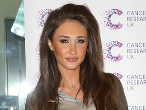Ex On The Beach star Megan McKenna attends James Ingham's Jog On To Cancer event in London, 7th April 2016