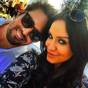 Vicky Pattison and Spencer Matthews, March 2016.