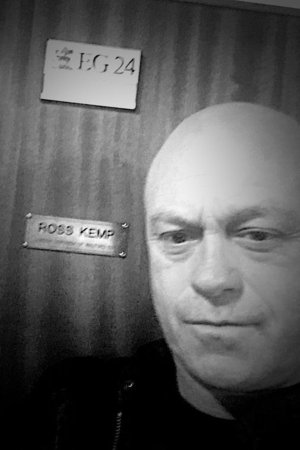 Ross Kemp back at EastEnders. 6 April 2016.