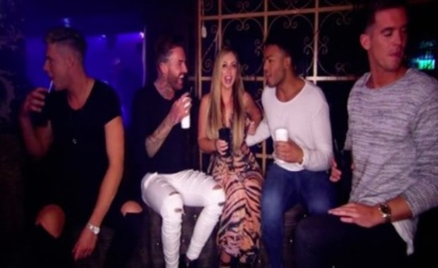 Geordie Shore episode four: Holly returns and joins the group clubbing. 5 April 2016.