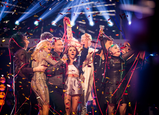 Kevin Simm wins The Voice UK 2016.