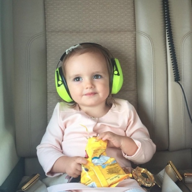 Tamara Ecclestone's daughter Sophia flies to Peppa Pig World in private helicopter - uploaded 7 April 2016