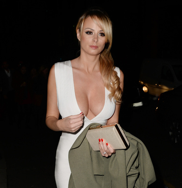 Rhian Sugden out in Blackpool. November 2015.