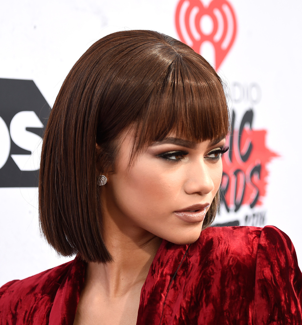 Actress/singer Zendaya attends the iHeartRadio Music Awards at The Forum on April 3, 2016 in Inglewood, California.
