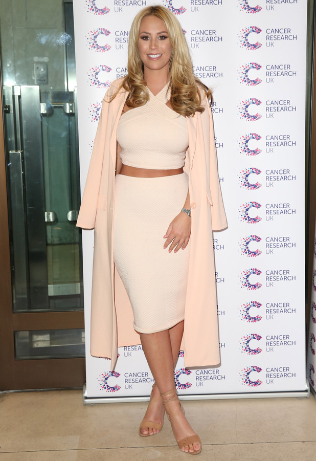 TOWIE's Kate Wright at the Jog On To Cancer event in London, 7th April 2016