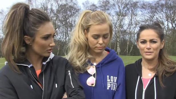 Courtney Green, Megan McKenna, Chloe Meadows talk to TOWIE website 3 April 2016