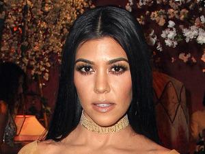 Keeping Up With The Kardashians star Kourtney Kardashian attend Alice & Emma fashion show in Los Angeles, 13th April 2016