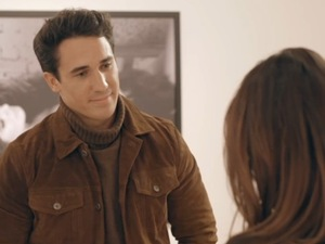 Made In Chelsea: Lucy confronts JP. 11 April 2016.