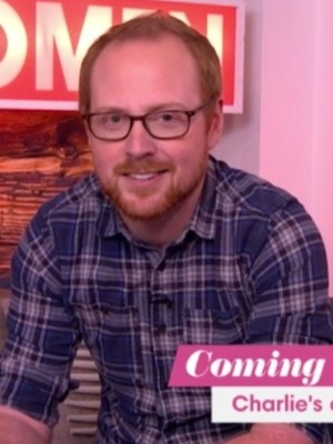 Charlie Clements on Loose Women, ITV, 13 April 2016