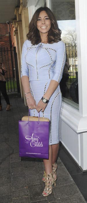 Model Pascal Craymer seen at Amy Childs' Salon launch in Brentwood, Essex, 12th April 2016