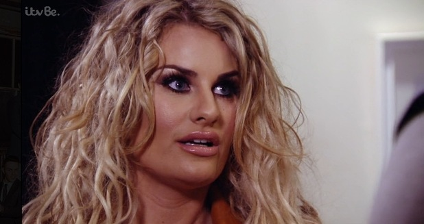 TOWIE: Danielle Armstrong speaks to Lockie. 10 April 2016.