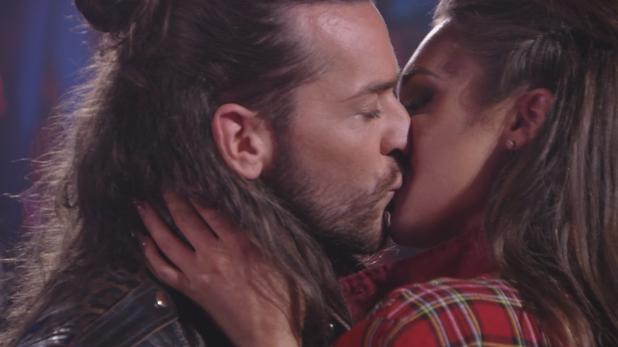 TOWIE: Pete and Megan kiss. 13 April 2016.